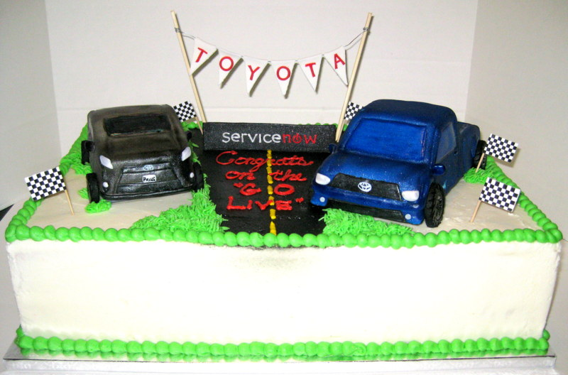 Toyota Motor Sales Service Now Cake Leanne 39 S Confections