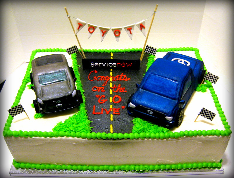 Toyota Motor Sales Service Now Cake Leannes Confections
